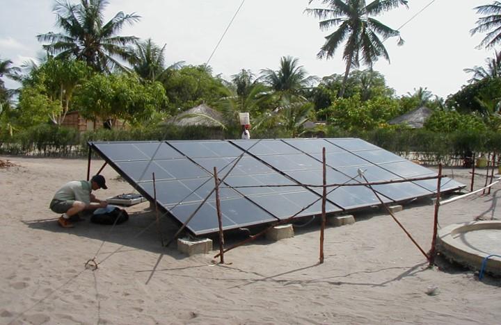 MOZAMBIQUE solar panels