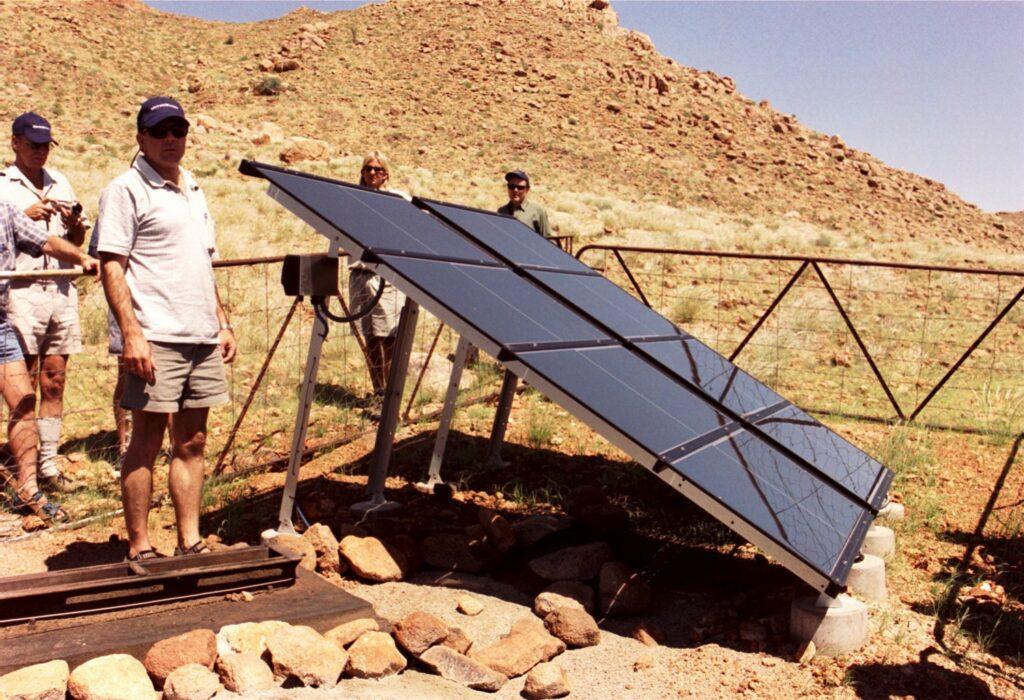 NAMIBIA solar panels