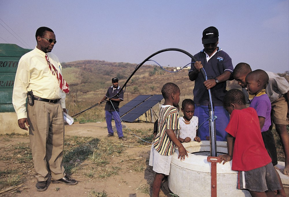 SOUTH AFRICA solar energy for water supply