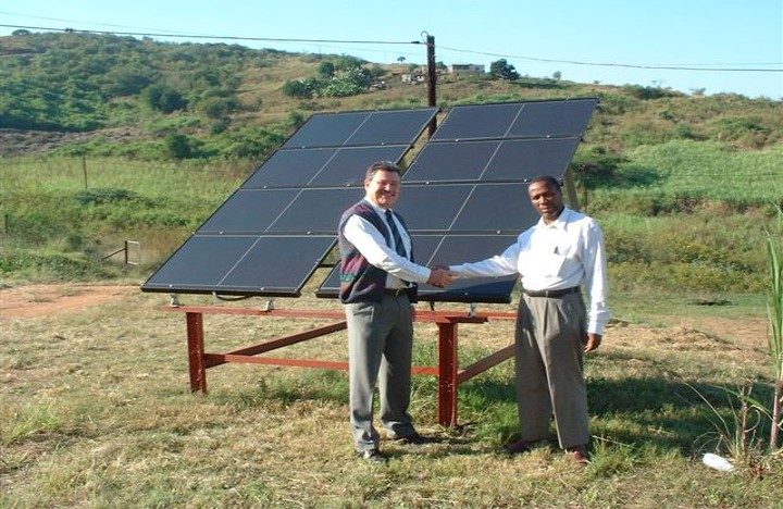 SOUTH AFRICA solar panels